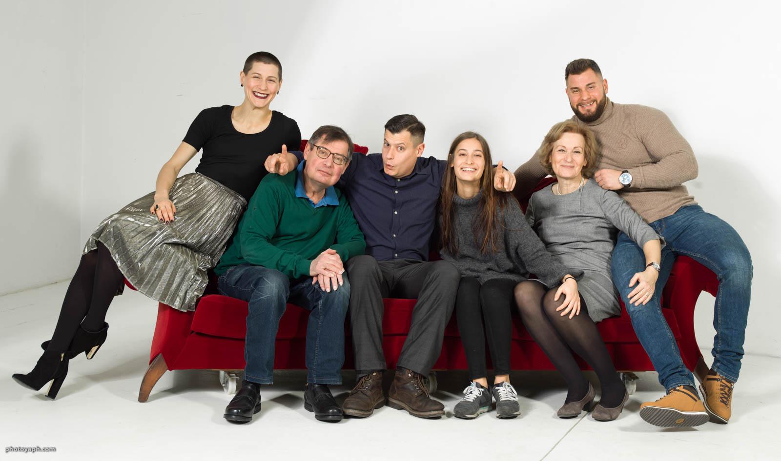 Familljefoto Luxembourg