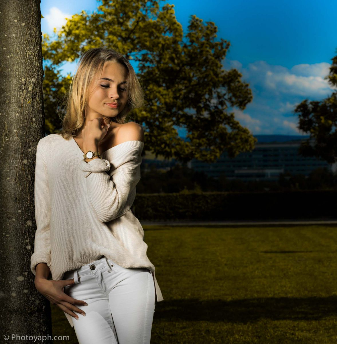 Shooting im Freien Fotostudio Yaph Yousef A. P. Hakimi Photography