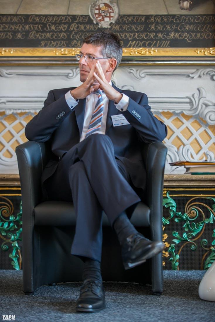 Universität Trier Präsident Prof. Dr. Michael Jäckel Fotostudio Yaph Yousef A. P. Hakimi Photography