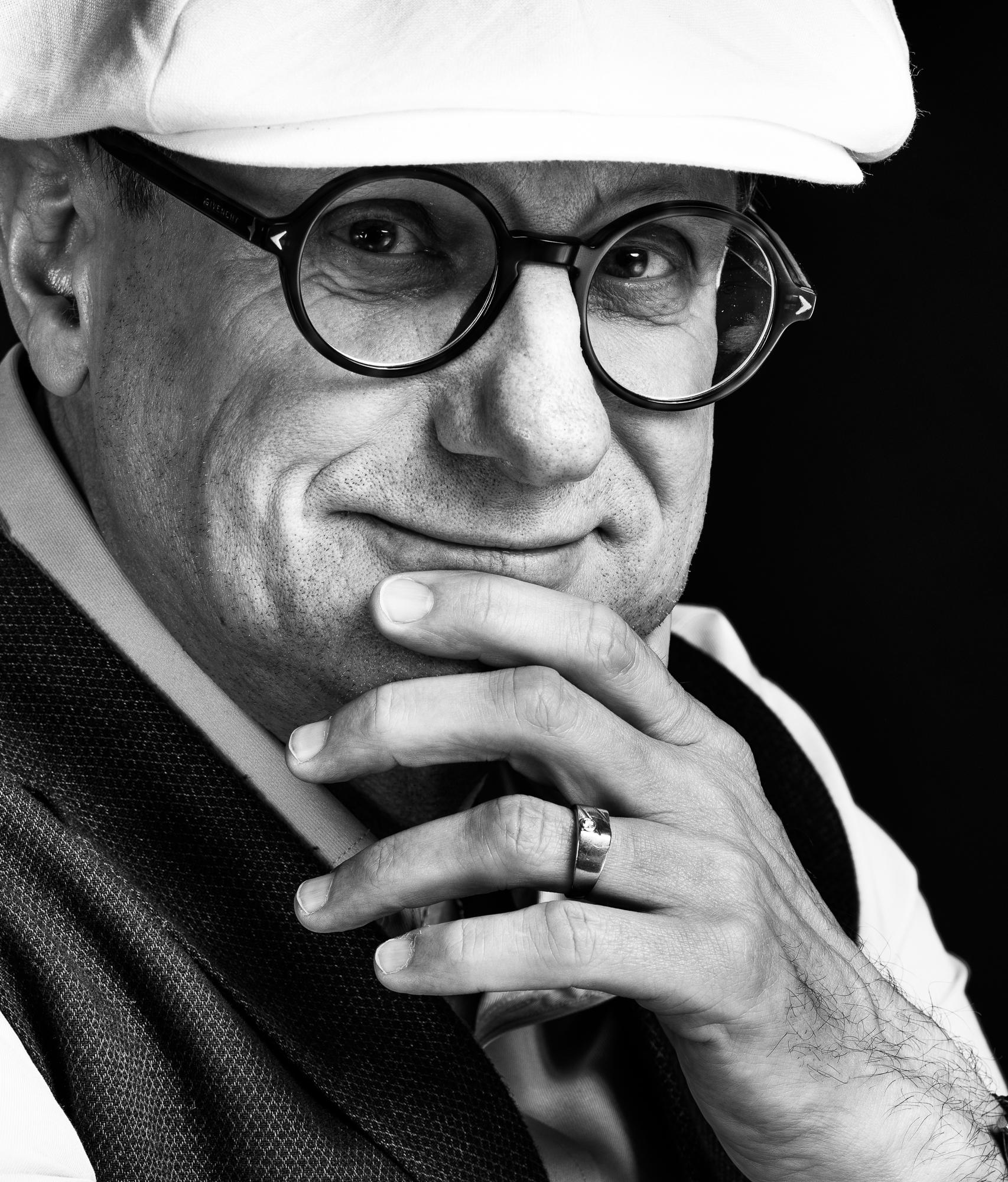 Uli Krenz der Poet und Dichter in einem Portrait von Yaph - Fotograf Trier