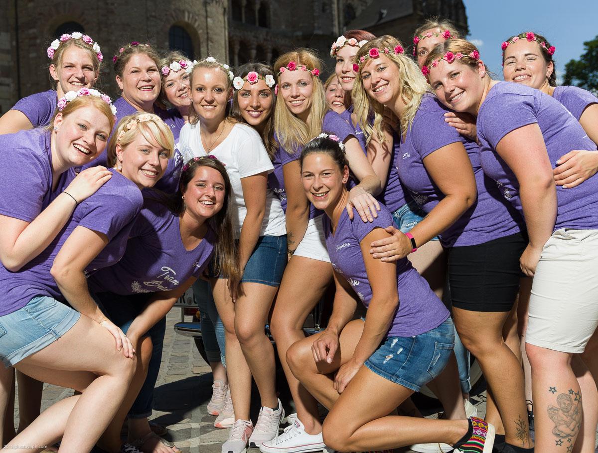Junggesellenabschiedsfeier Jana durch die Stadt Trier
