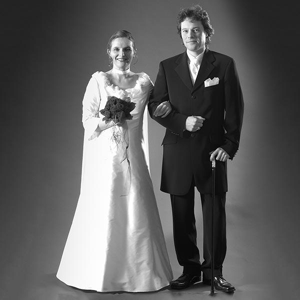 Brautpaar Bilder im Vintage Stil von Fotograf Yaph Trier