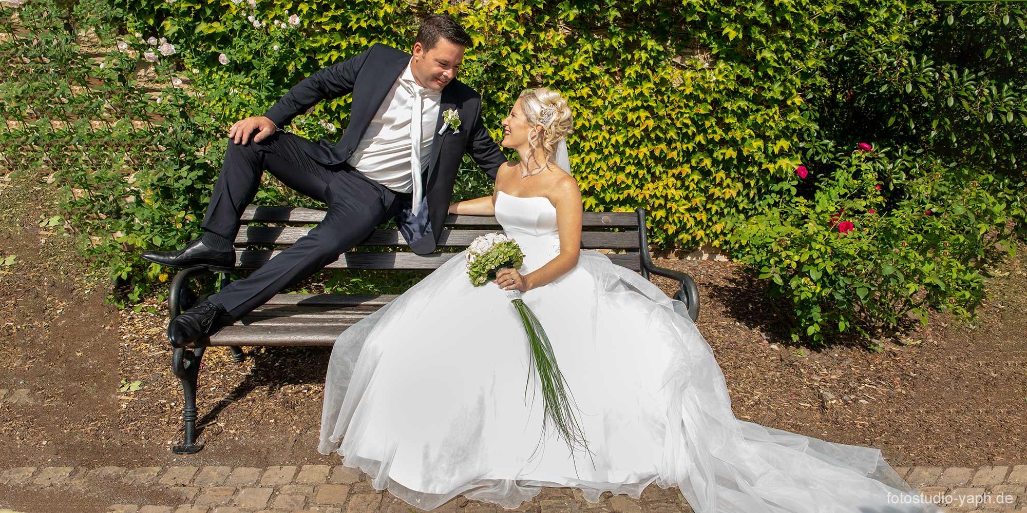 Hochzeitsfotograf vom Fotostudio Yaph Trier im Kloster Machern