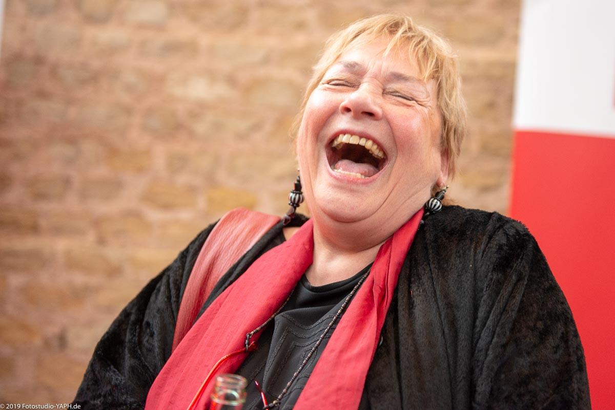 Renate Heineck auf dem Neujahrsempfang der SPD Trier fotografiert vom Fotostudio Yaph