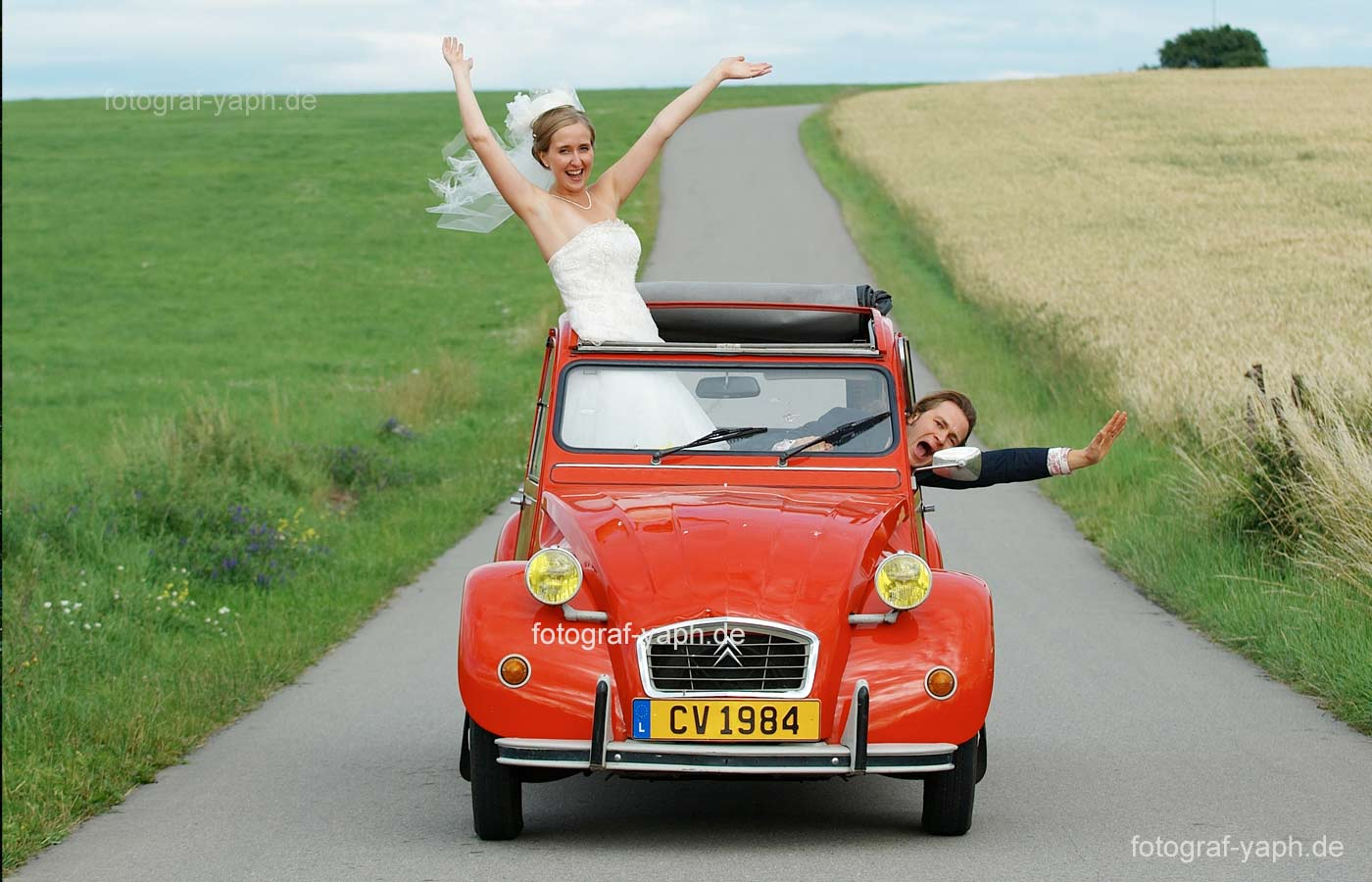 Fotograf für Hochzeit und Hochzeitsfotografie und Brautpaarshooting von Fotograf Yaph in Trier und Luxemburg.