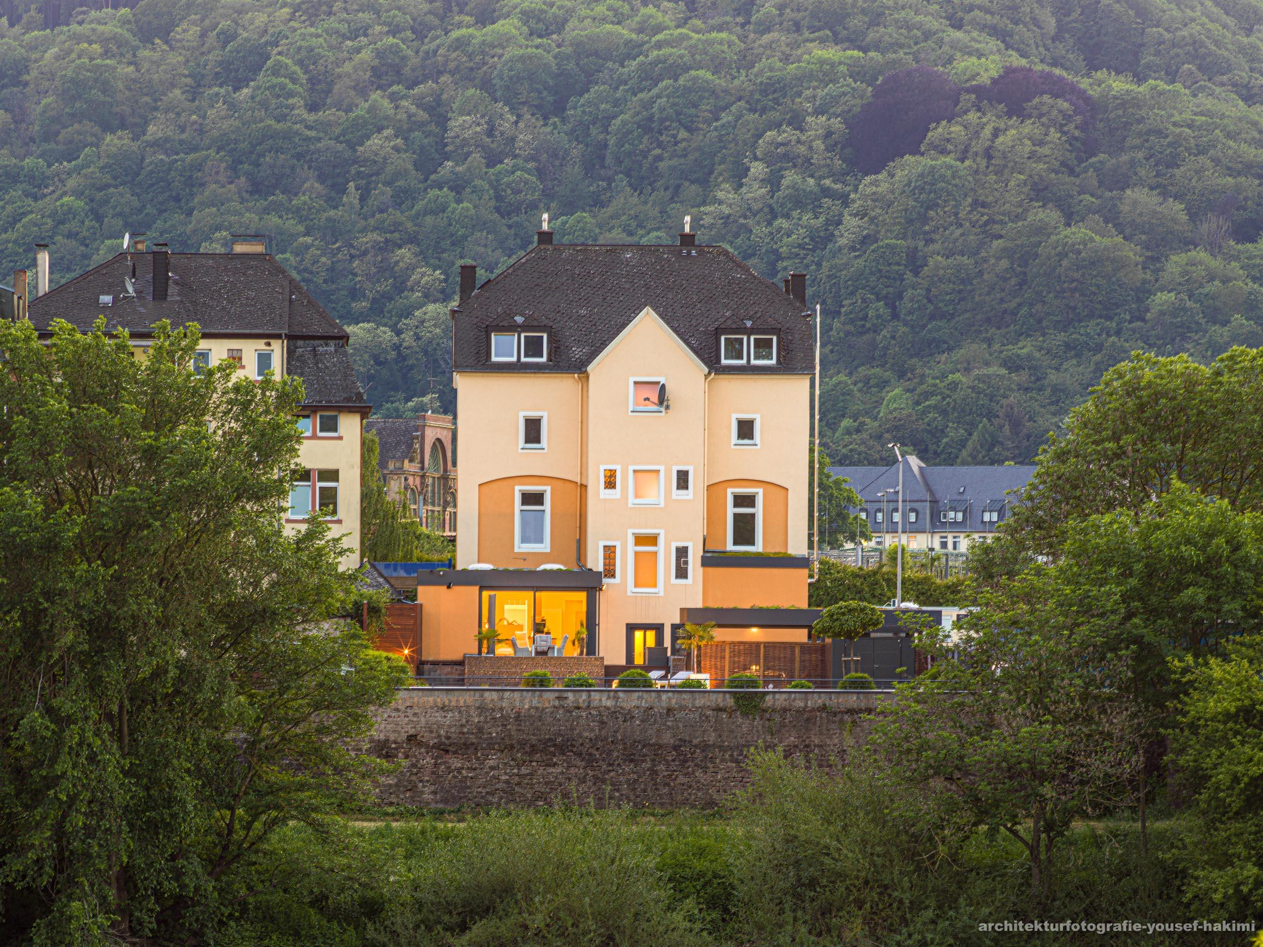 Immobilienfotografie von einem Objekt an der Mosel im Auftrag von Engel & Völkers