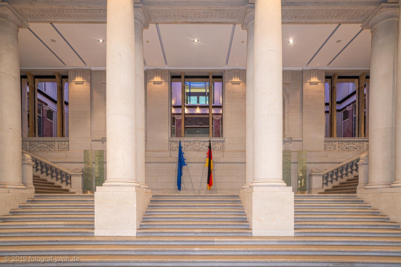 monumentale Architektur des Bundesrats Berlin fotografiert von Fotostudio Trier Yaph