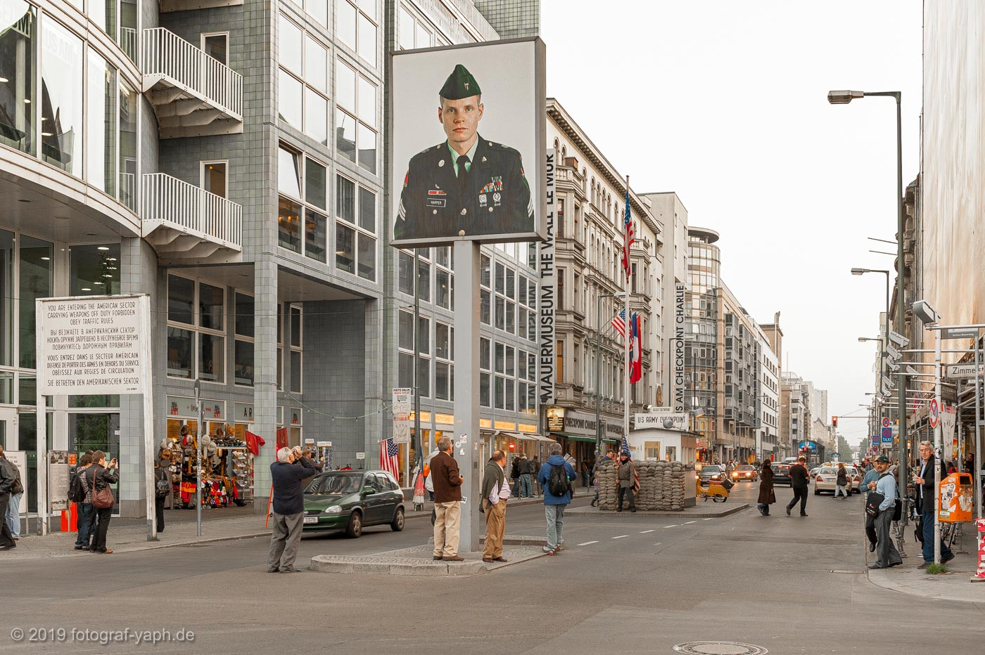 Berlin Checkpoint Charlie photography yaph