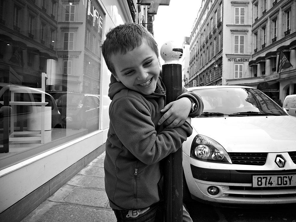 Streetfotografie die Pariser