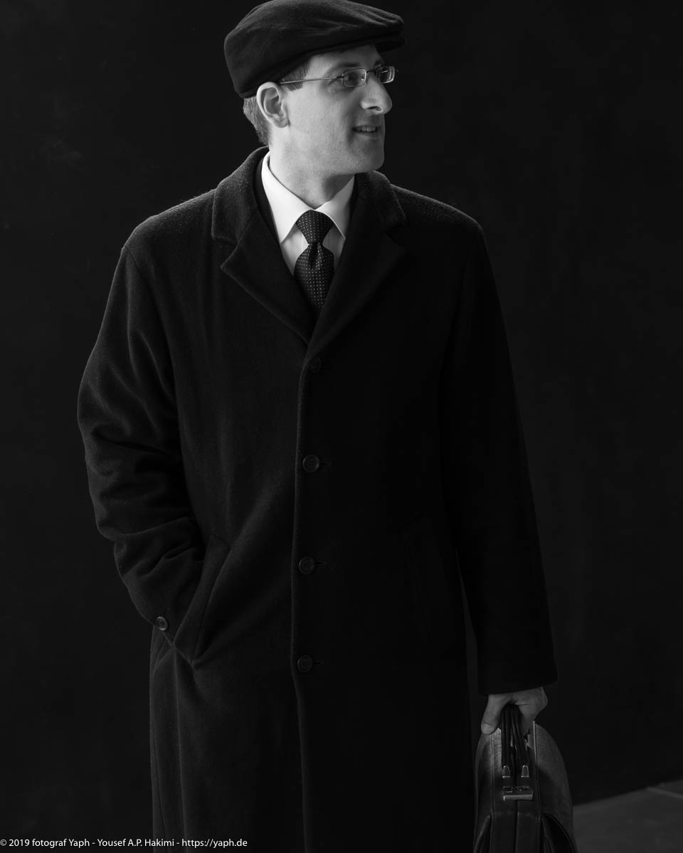 Charakterfotografie in schwarz-weiss von Yaph Fotograf Trier