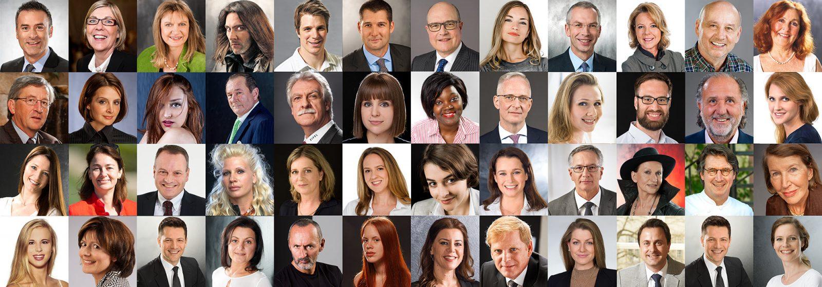 Fotograf Yaph hat bereits 25000 Menschen in Portraitfotos fotografiert, seit dem Jahr 1990, als das Fotostudio Yaph in Trier gegründet wurde.