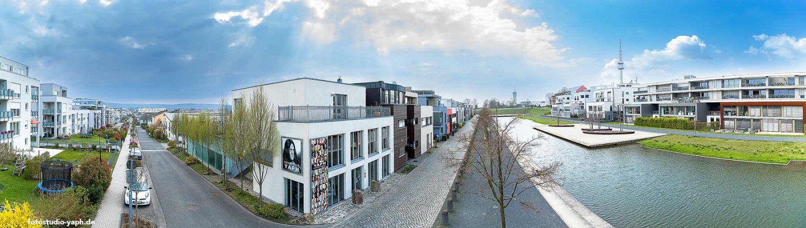 Das Fotostudio in Trier Yaph auf dem Petrisberg am Wasserband