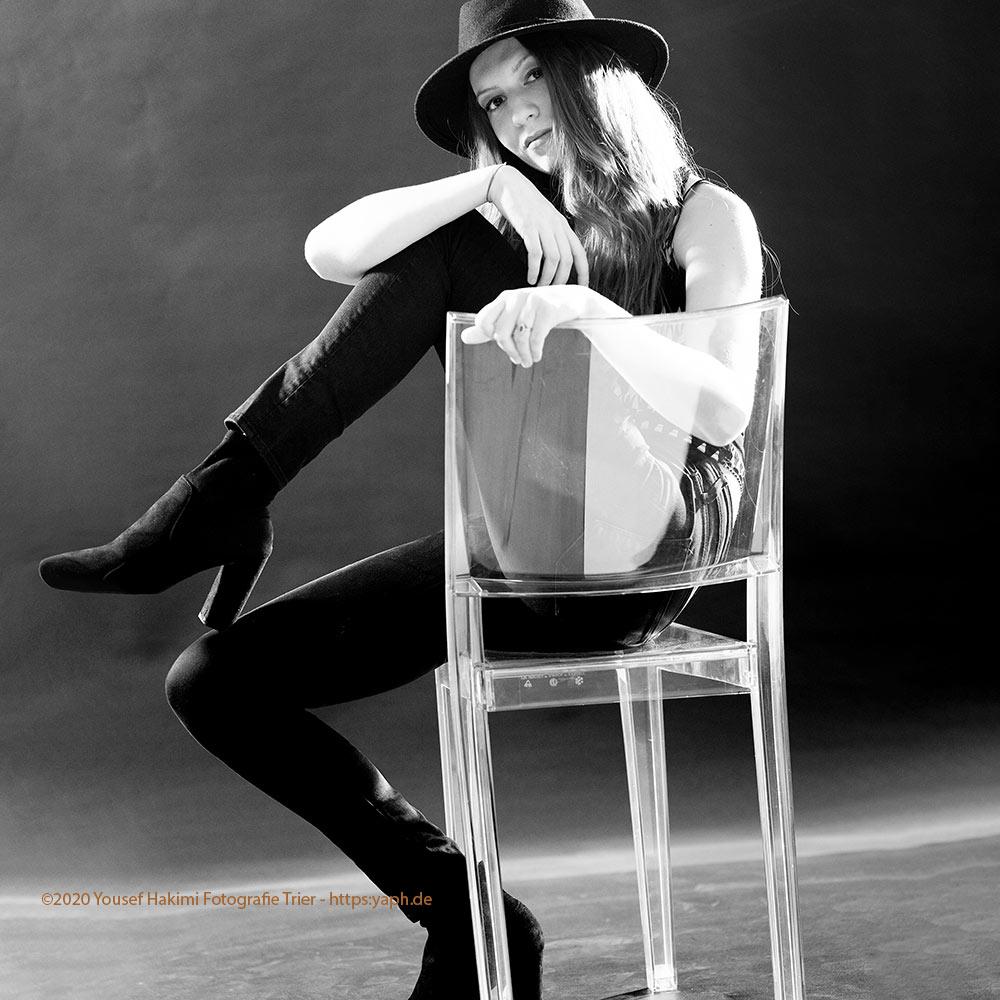 Portraits und Beauty Fotoshooting Dana bei Photograph Trier - Yaph