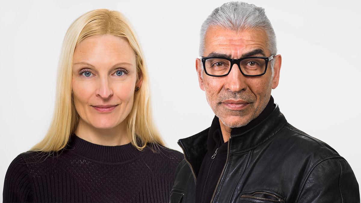 Claudia Gabriele und Yousef Hakimi - das kreative Team vom Fotoatelier Yaph in Trier