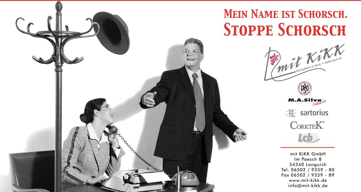 Webekampagne Stoppe Schorsch und Miss Monypenny für Mit Kikk GmbH, Konzept, Fotografie, Layout: Atelier Yaph Trier