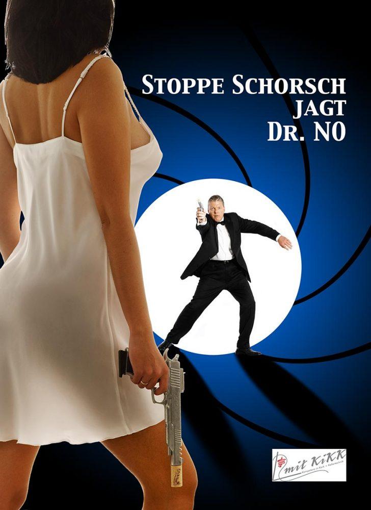 Webekampagne für Mit Kikk GmbH, Stoppe Schorsch und Bond Girl, Konzept, Fotografie, Layout: Atelier Yaph Trier