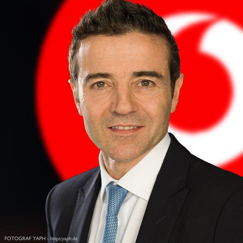Dominique Rousseau, CEO Vodafone, Yaph Fotograf Businessportrait