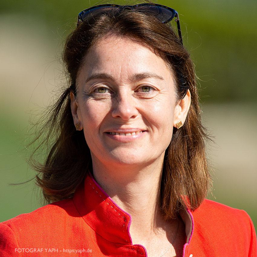 Katarina Barley, Vizepräsidentin des Europäischen Parlaments, Portrait bei Fotograf Yaph Trier.