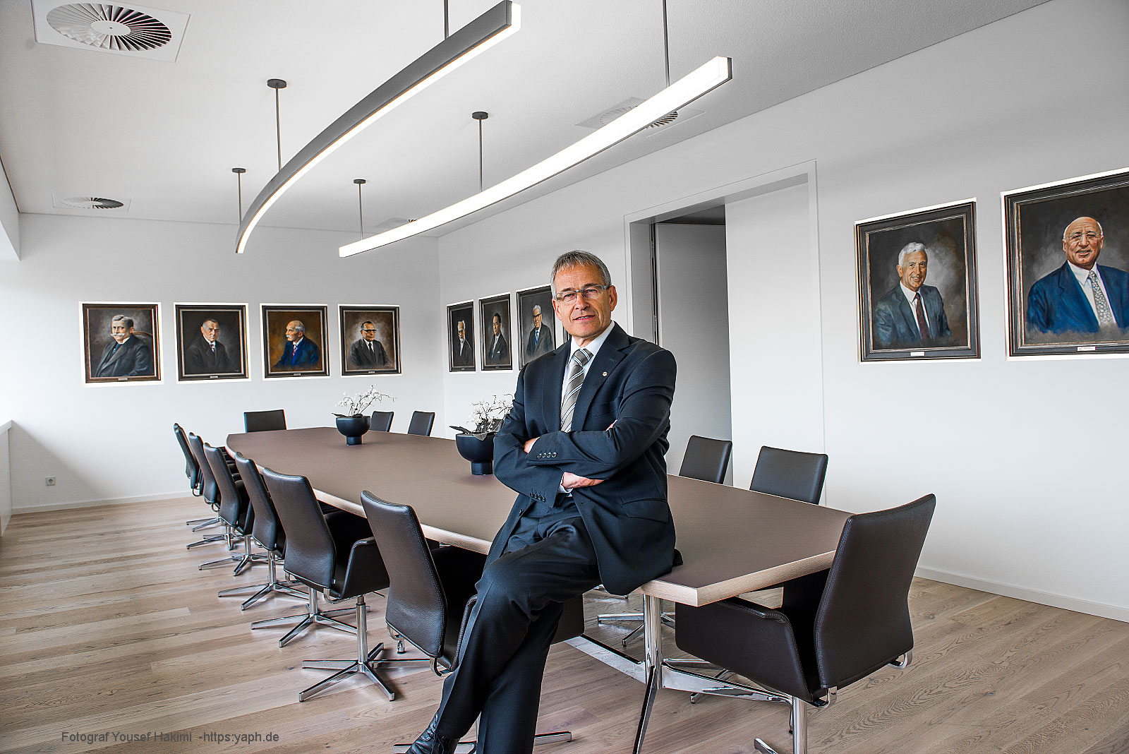 Rudi Müller Präsident der Handwerkskammer Trier, Businessfotografie und Editorial photography