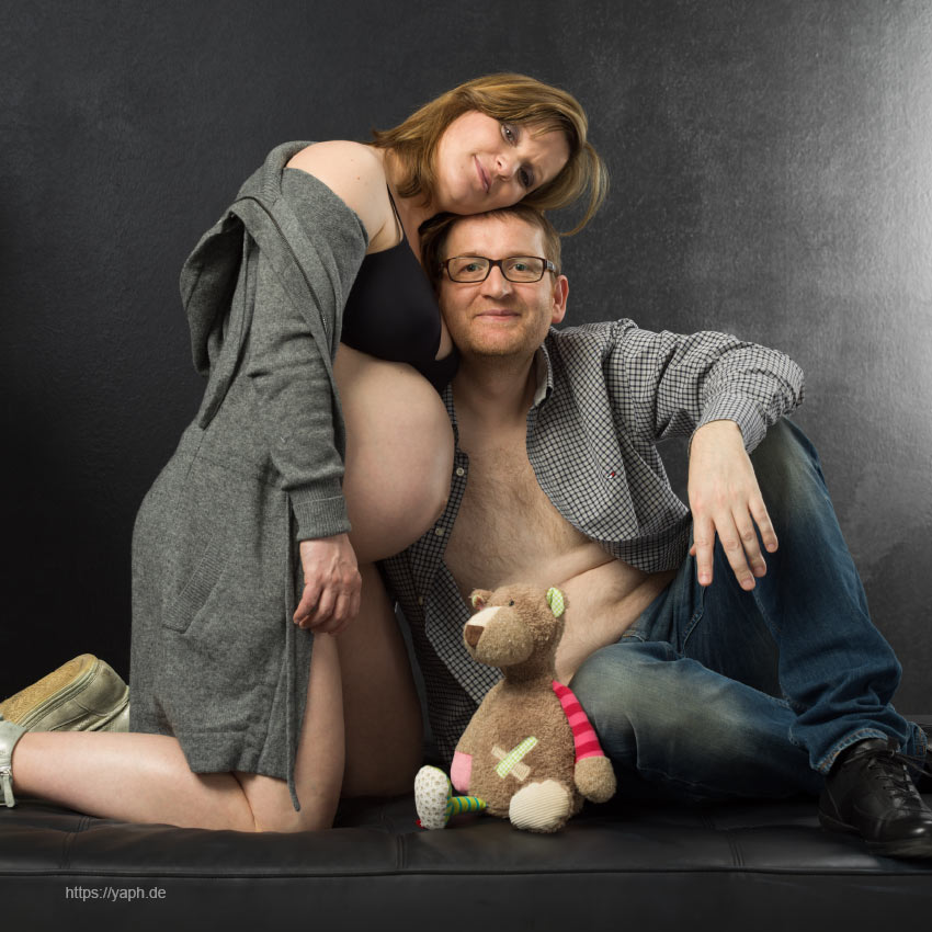 Babybauch Fotoshooting - photography Yaph