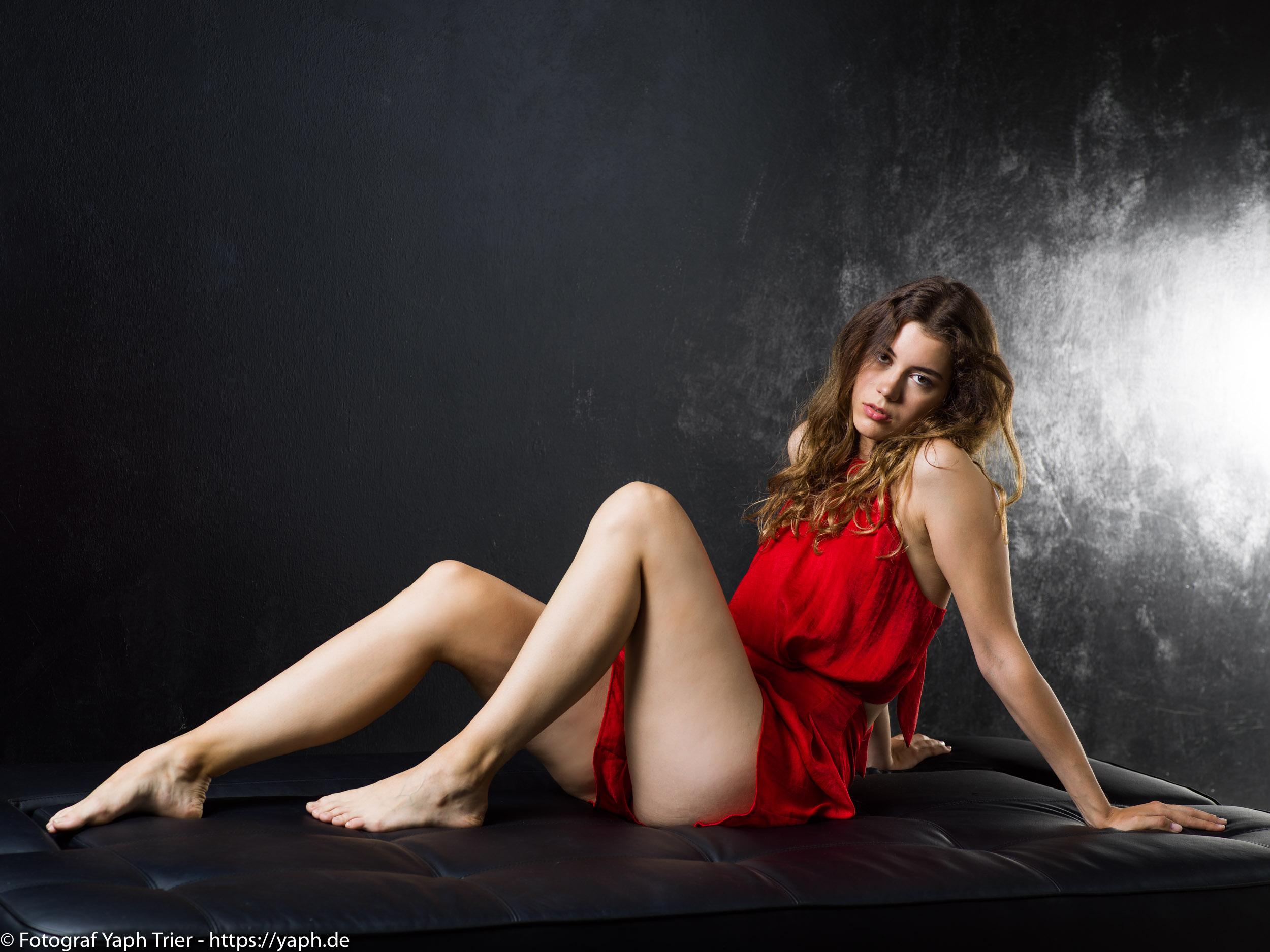 Portrait Fotoshooting Chiara bei Fotograf Trier Yaph