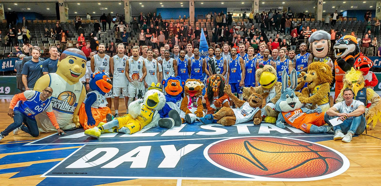 Basketball Spiel der Gladiatoren in der Arena Foto bei Fotograf Trier - Yaph