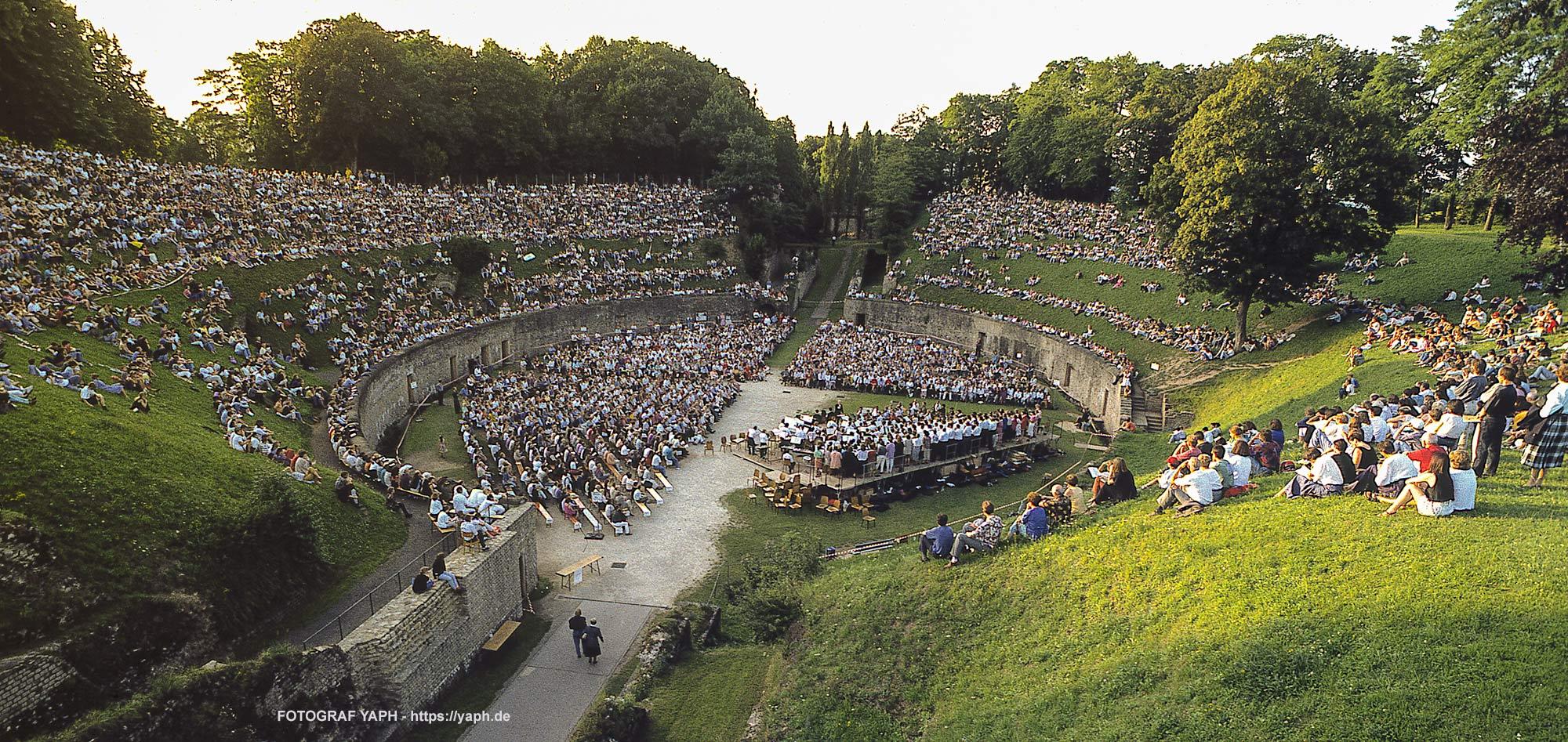 Amphitheater Trier - Carmina Burana - Konzert - Fotograf Yaph