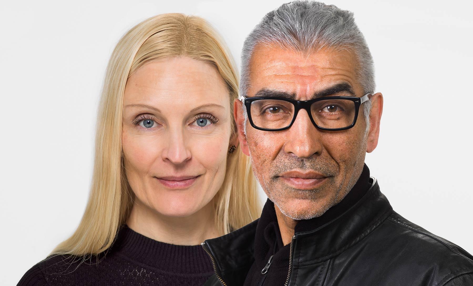 Fotograf Trier Yousef Hakimi und Claudia Gabriele