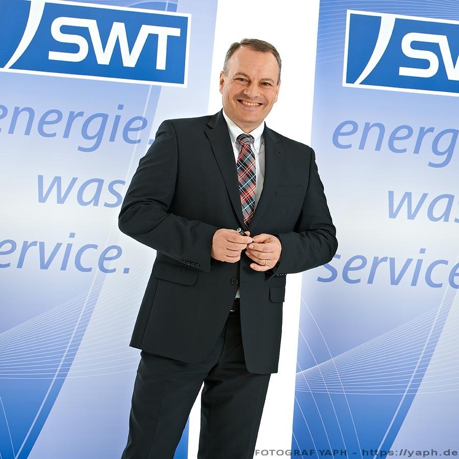 SWT -Arndt Müller - Vorstand der Stadtwerke Trier - Businessfotografie Yaph