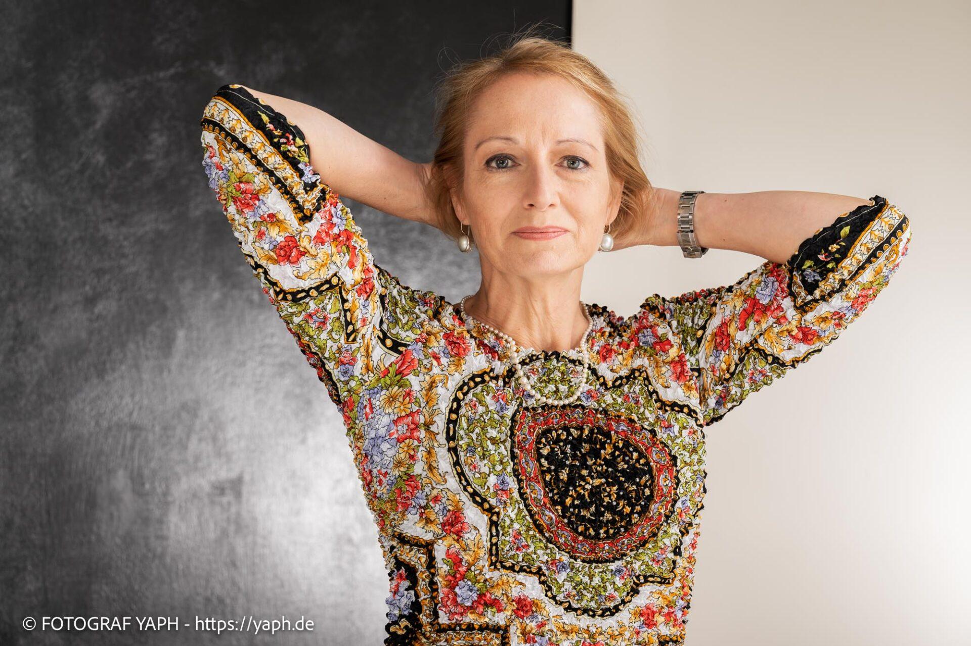 Portrait Fotoshooting Anja bei Yaph Fotograf Trier