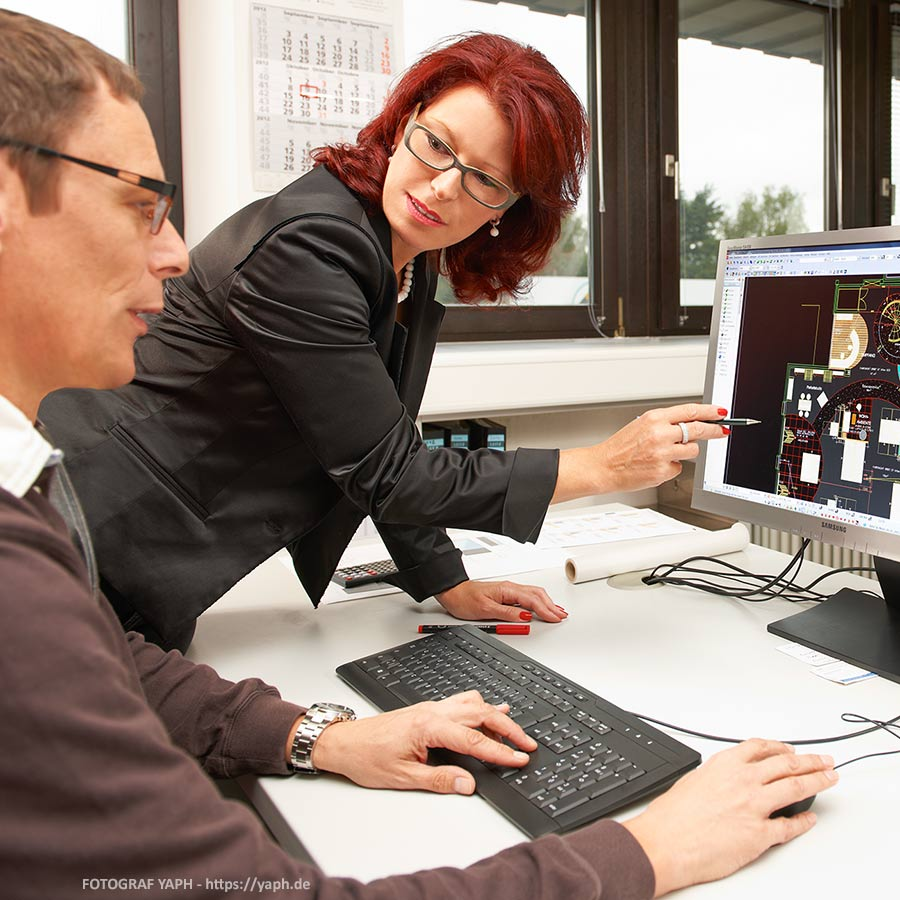 Werbefotografie, Businessfotos, Mitarbeiterportraits bei Werbefotograf Trier - Yaph