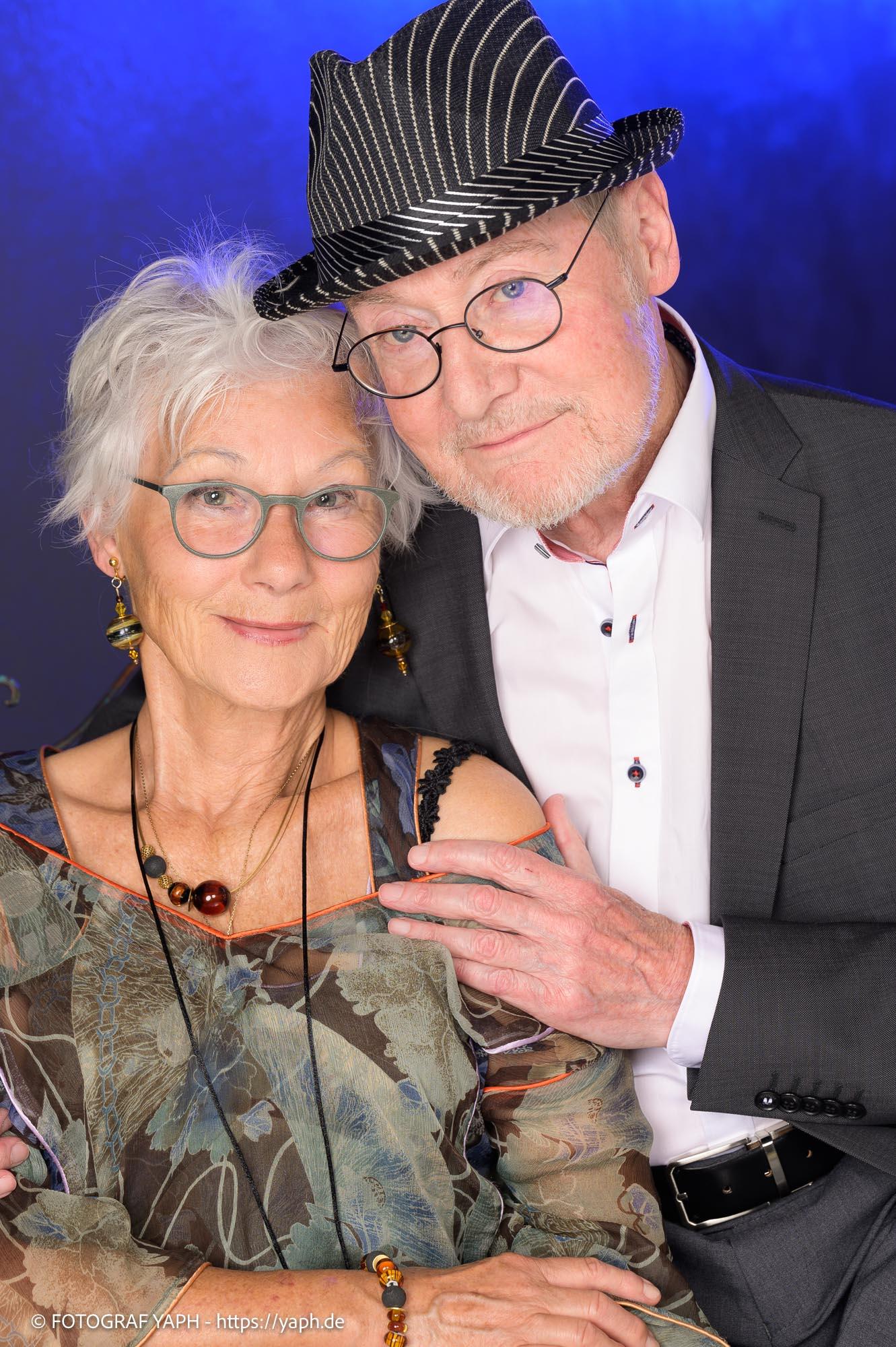 Portrait Fotos und Paar Fotoshooting Sybille & Dieter