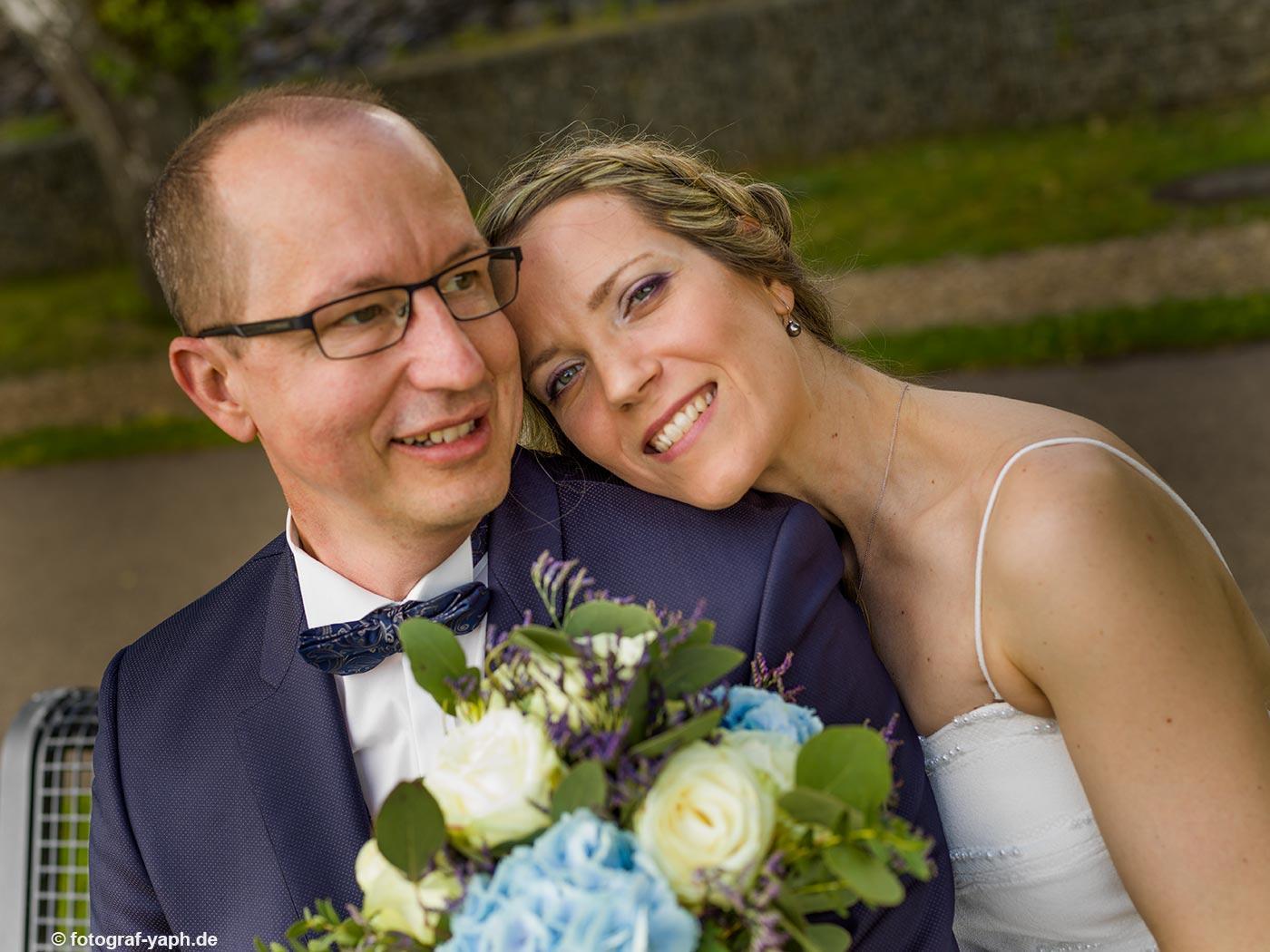 Hochzeitsfotografie in Trier Yaph, Petra und Herbert