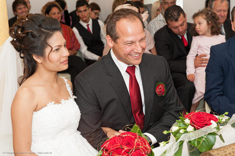 Fotos während der Trauung sind ein wichtiges Dokument für die Familie